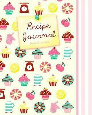 NEW Blank Recipe Book Diary, Journal or Blank Book Free Shipping