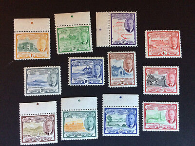 St Christopher-Nevis-Anguilla stamps. 1952. set MNH