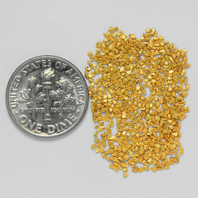 0.6746 Gram Alaskan Natural Gold Nuggets - (#21016) - Hand-Picked Quality