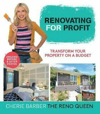 NEW Renovating For Profit By Cherie Barber Paperback Free Shipping