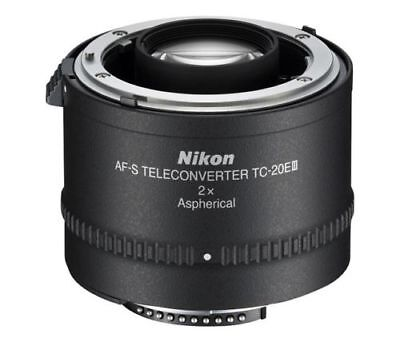 New!! Official Nikon AF-S Teleconverter TC-20E III 2X from Japan Import Free EMS
