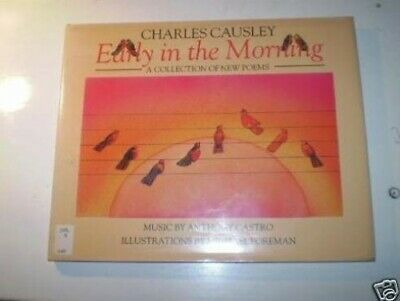 Early in the Morning: A Collection of New Poems by Charles, Causley Hardback The