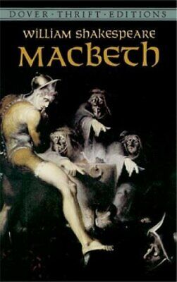 Macbeth (Dover Thrift Editions) by Shakespeare, William Paperback Book The Cheap