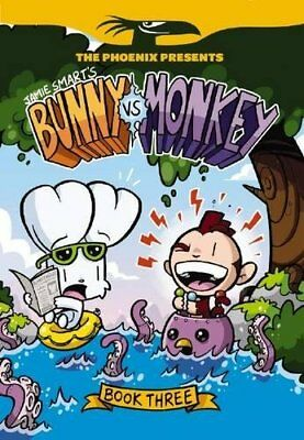 Bunny vs Monkey: Book 3 (The Phoenix Presents) by Jamie Smart Book The Cheap