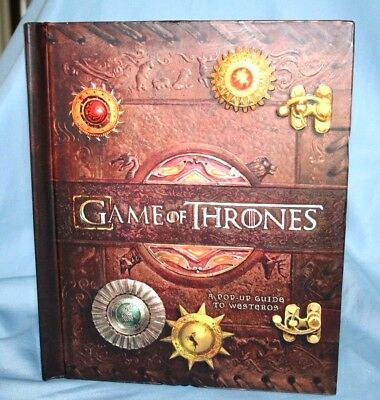 Game of Thrones : A Pop-Up Guide to Westeros by Matthew Reinhart