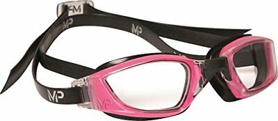 Michael Phelps Xceed Ladies Swimming Goggles - Pink/Black - Clear Lens