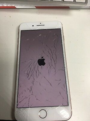 Original Apple iPhone 7 Plus Cracked Screen - Good Digitizer And LCD