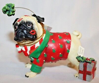 Pug-nacious Office Party Pug  #16121 Westland Giftware