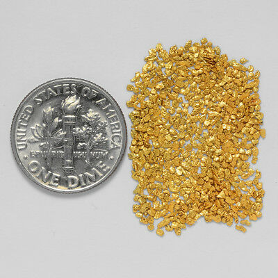0.6191 Gram Alaskan Natural Gold Nuggets - (#21053) - Hand-Picked Quality