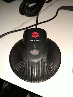 Lot of 2 Polycom Soundstation 2 Extended Microphones