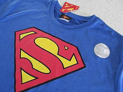 Superman Polyester Shirt Medium Med New With Tags