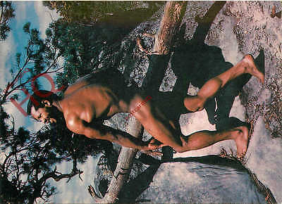 Picture Postcard- Nude Man, Rural