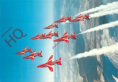 Picture Postcard- RAF RED ARROWS