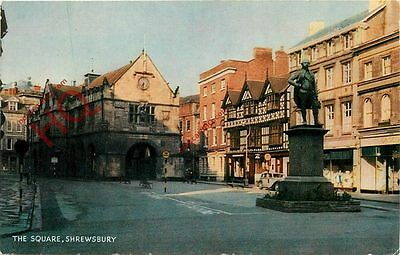 Picture Postcard- The Square, Shrewsbury