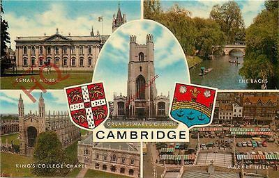 Picture Postcard; Cambridge (Multiview) [Salmon]