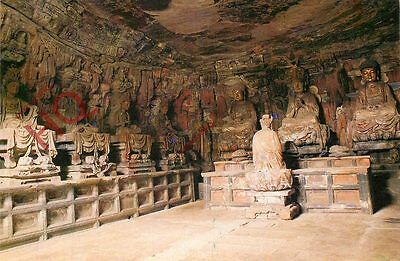 Picture Postcard; China, Yuanjue Cave, Baoding Hill