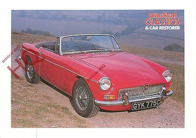 Picture Postcard; MG MGB ROADSTER