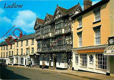 Picture Postcard; Ludlow, Feathers Hotel
