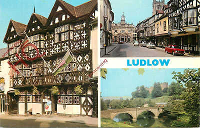 Picture Postcard; Ludlow (Multiview) [Dennis]