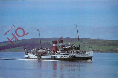 Picture Postcard:;PADDLE STEAMER WAVERLEY