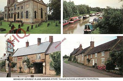 Picture Postcard-:Aynho (Aynhoe) (Multiview)