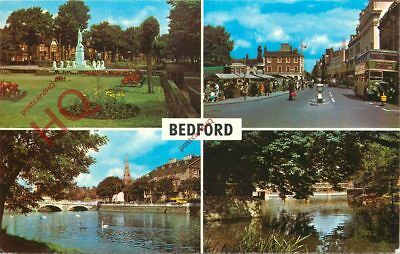Picture Postcard-:Bedford (Multiview)
