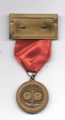 1960 Ana 100Th Anniversary Special/delegates Medal With Original Ribbon.