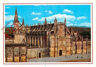 Picture Postcard~ Batalha, Monastery, Front (West)