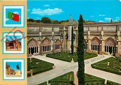Picture Postcard~ Batalha, Portugal - Monastery, Garden And Royal Cloister