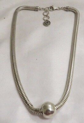 Silpada N2416 Sterling Silver Chic Necklace 925 Signed