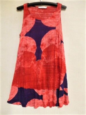 LAUREN VIDAL TUNIC CRUSHED STRETCH  by FRENCH DESIGNER SIZE XL
