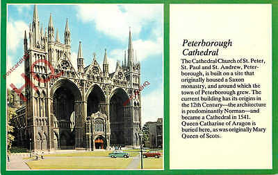 Picture Postcard: Peterborough Cathedral [Textview]