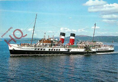 Picture Postcard::PADDLE STEAMER WAVERLEY