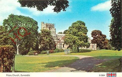Picture Postcard, Dunstable, Priory Church