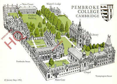 Picture Postcard::Cambridge, Pembroke College