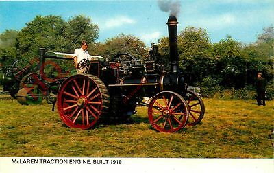 Picture Postcard, MCLAREN TRACTION ENGINE