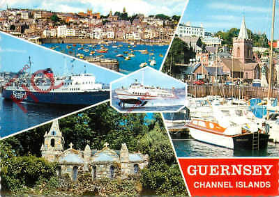 Picture Postcard:;Guernsey (Multiview) [Bamforth]