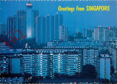 Picture Postcard:;Greetings From Singapore