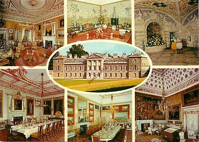 Picture Postcard:-Woburn Abbey (Multiview)