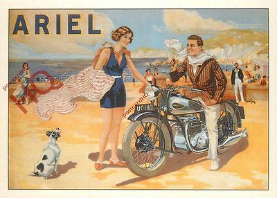 Picture Postcard; ARIEL MOTORCYCLE (REPRO)