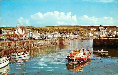 Picture Postcard-:Lifeboat And Harbour, Portpatrick