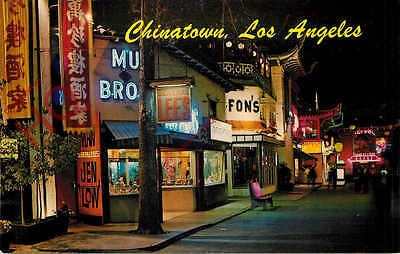 Picture Postcard-:Los Angeles, Chinatown