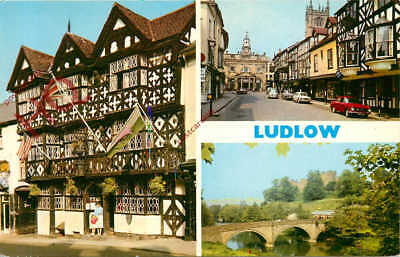 Picture Postcard:-Ludlow (Multiview) [Dennis]