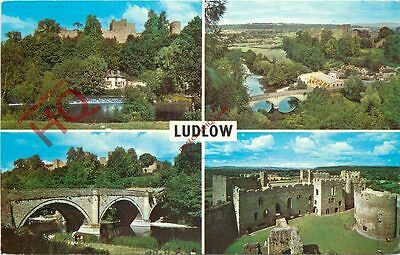 Picture Postcard-:Ludlow (Multiview)