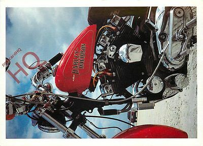 Picture Postcard:-MOTORCYCLE, HARLEY-DAVIDSON