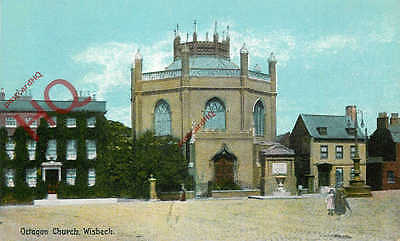 Picture Postcard~ Wisbech, Octagon Church