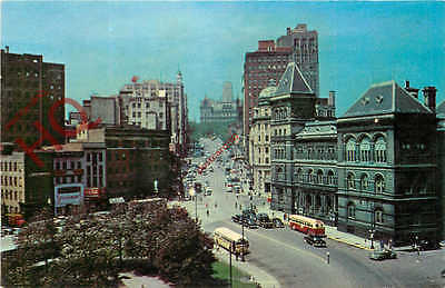 Picture Postcard--Albany, State Street