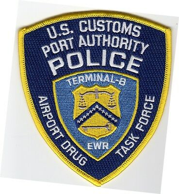 PORT AUTHORITY AIRPORT DRUG TASK FORCE patch - TERMINAL -B