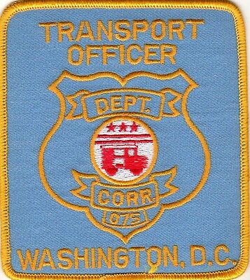 FEDERAL Department of CORRECTIONS - TRANSPORT OFFICER