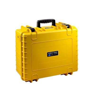 Accessoires - Drones B&W Copter Case Type 6000/Y yellow with GoPro Karma Inl
